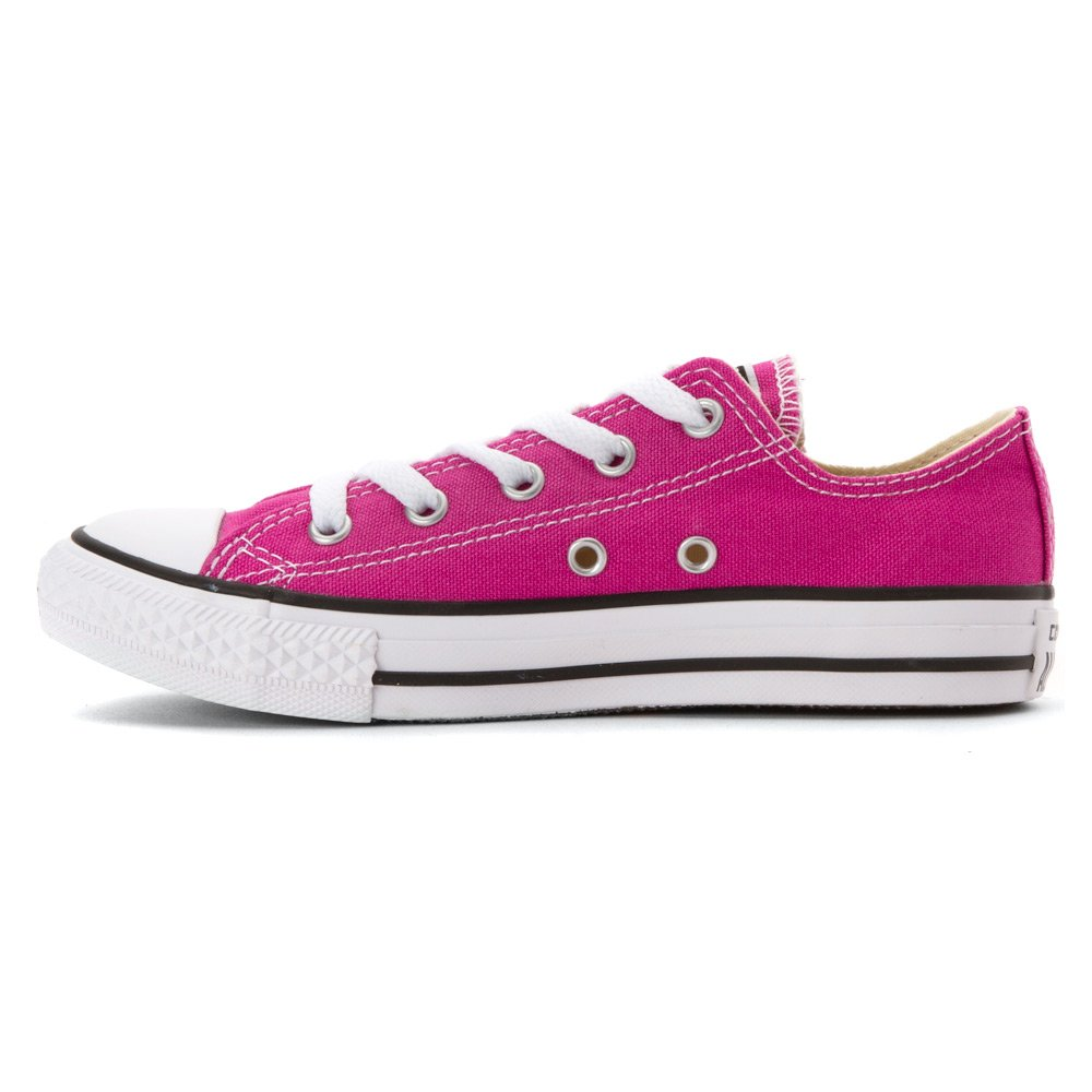 CONVERSE Kids Chuck Taylor All Star Seasonal Ox Fashion Sneaker Shoe Plastic Pink 3 Imported 351874F