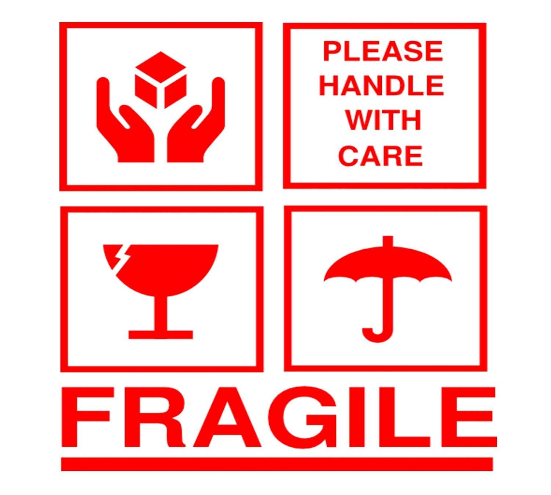 最高 Handle With Care Logo - さのばりも