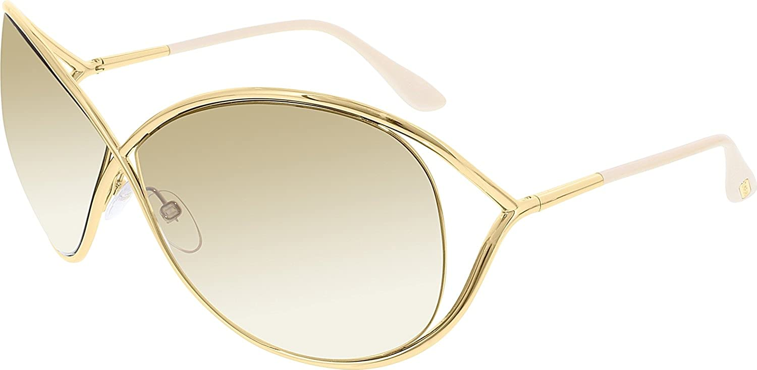 ed9b3eca244f Amazon.com  Tom Ford Sunglasses - Miranda   Frame  Shiny Rose Gold Lens   Brown Gradient  Shoes