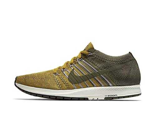 ee98fc07776 Mens NikeLab Flyknit Streak Desert Moss Running Trainers 904711 300   Amazon.co.uk  Shoes   Bags