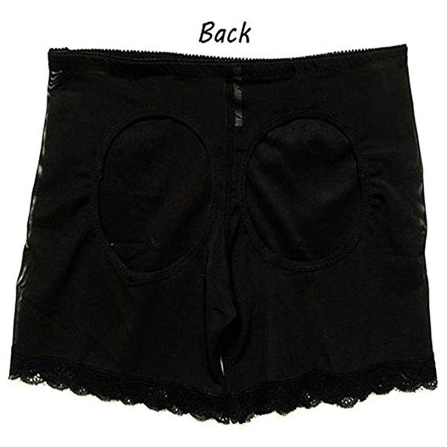 Women Briefs Solid Color Stitching Control Butt Underpants Shorts Shaping Briefs by Kairood