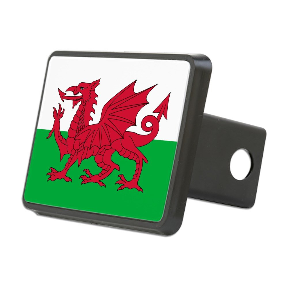 CafePress - Welsh Flag of Wales - Trailer Hitch Cover, Truck Receiver Hitch Plug Insert by CafePress