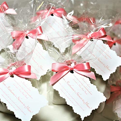 60 custom bath bomb favors baby shower bridal shower