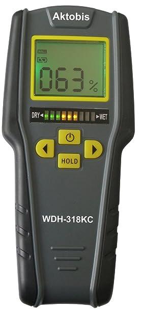 Aktobis Indicador de Humedad Medidor de Humedad Material Medidor de Humedad WDH-318KC: Amazon.es: Bricolaje y herramientas