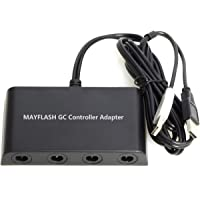 MAYFLASH Mayflash 4 Port Gc Controller Adapter For Wii U Pc Usb And Switch