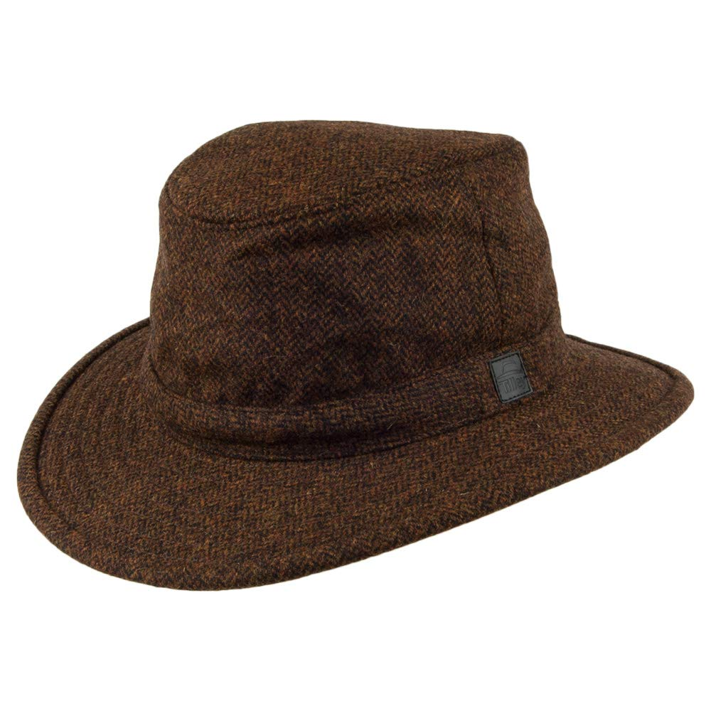 86e203c1a Tilley TTW2 Tec-Wool Hat - Rust Herringbone - 77/8 at Amazon Men's ...