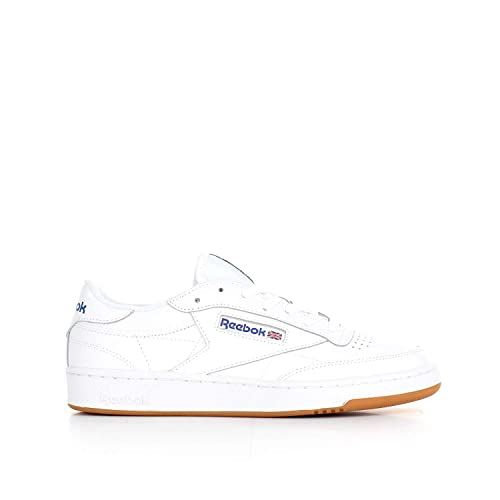 2c59f8da7 Reebok Men s Club C85 Trainers White  Amazon.co.uk  Shoes   Bags