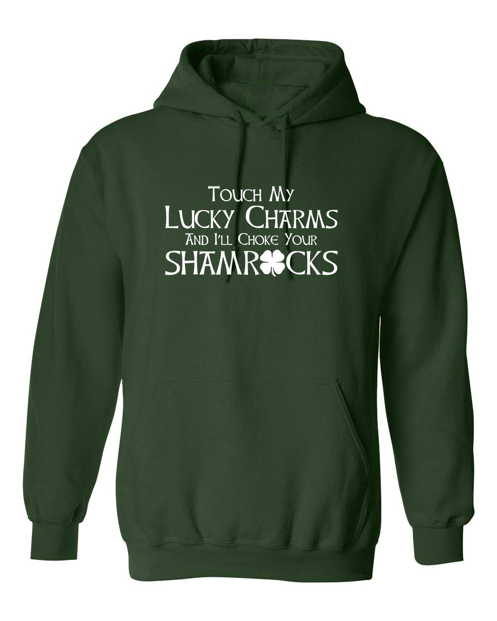 Touch My Lucky Charms St Patrick S Day Saint Irish Pats Sarcastic Funny T Shirt