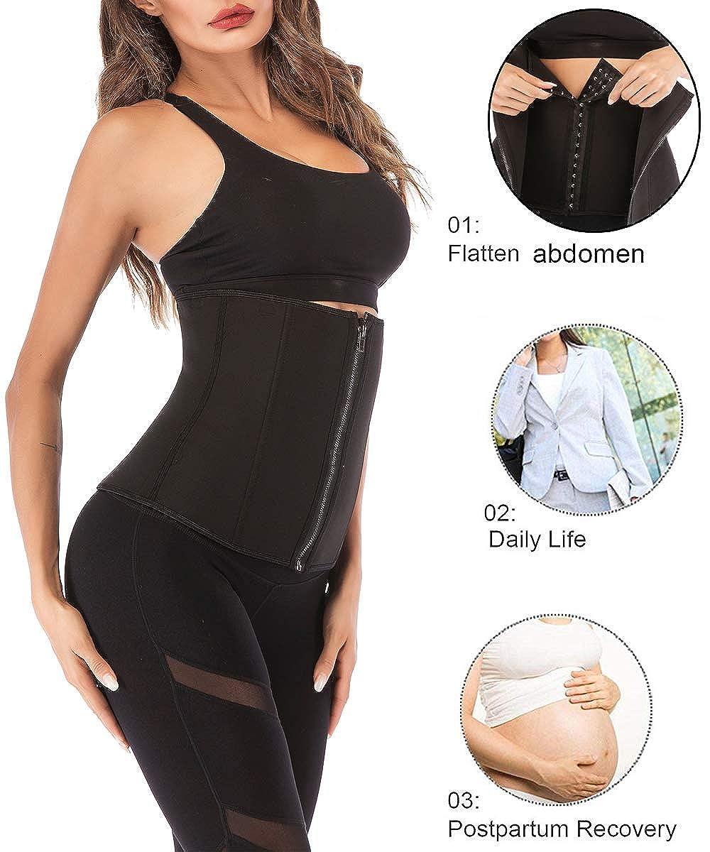 FUT/_Forever Clip and Zip Waist Trainer Corset Women Neoprene Tummy Control Shapewear