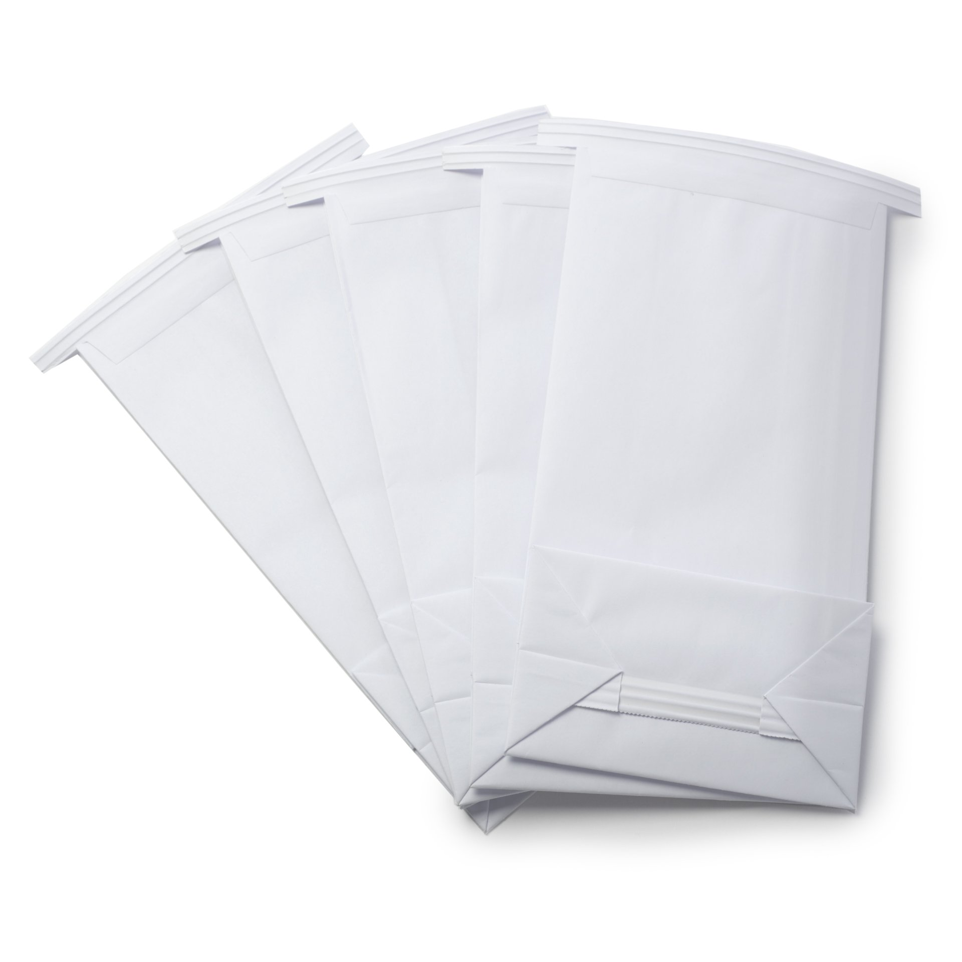 Classic White Vomit/Barf Bags - Travel Motion & Morning Sickness Bags (25/Pk) by The Barf Boutique (Image #4)
