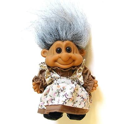 "Russ Berrie My Lucky Sweet Grandma 6"" Troll Doll: Toys & Games"