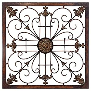 Delightful Propac Images 8037 Metal Scroll Wall Decor