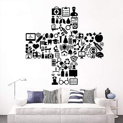 Vinyl Wall Decal Medicine Hospital Symbol Clinic Doctor