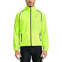 1e285cca6 Baleaf Men s Cycling Jacket Vest Windproof Water-Resistant Coat Breathable  Outdoor Sportswear