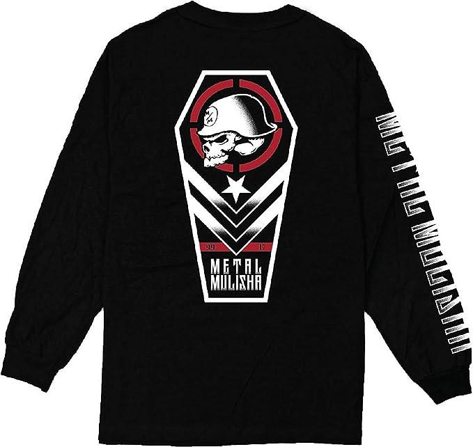 Metal Mulisha - Camiseta de manga larga - camisa - para hombre Negro negro XL: Amazon.es: Ropa y accesorios