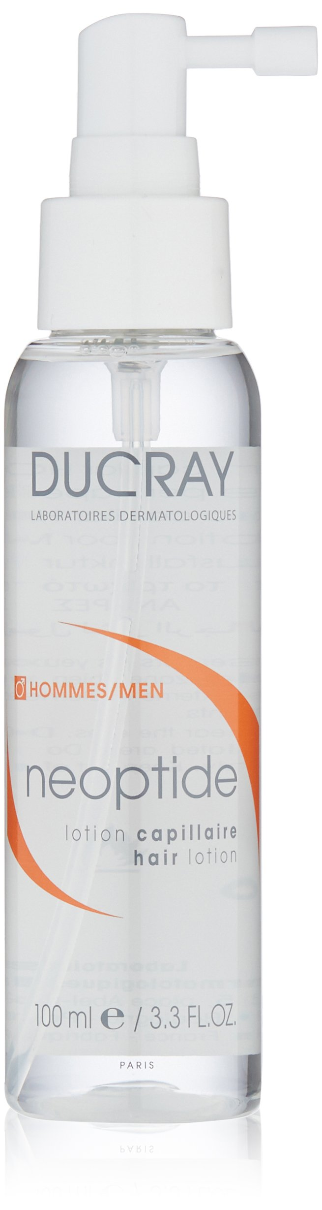 Ducray Neoptide Hair Lotion MEN, Chronic, Progressive Thinning Hair Treatment Spray, Reduces Appereance of Hair Loss, 3 x  1 oz.