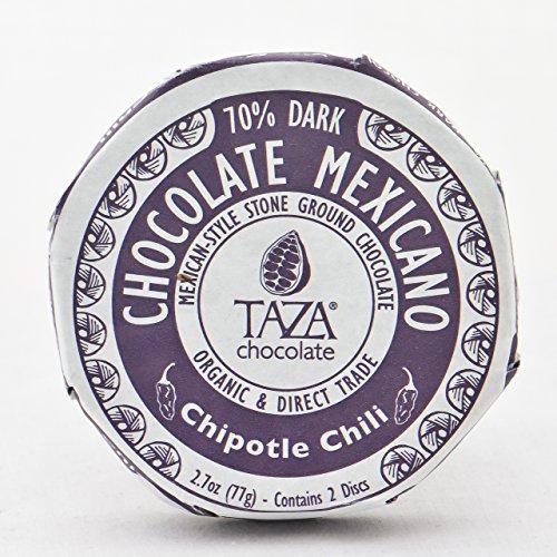 Taza Chocolate Mexicano Chocolate Disc, Chipotle, 2.7 (Organic Chipotle)