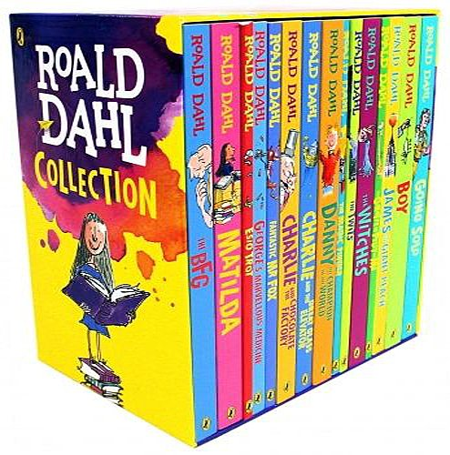 Roald Dahl Collection - 15 Paperback Book Boxed Set (Ralph Mouse Collection)