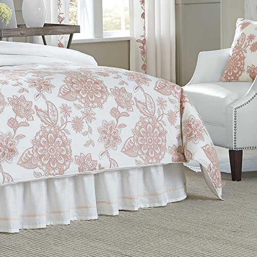 Croscill 2A0-003O0-1610/672 Fiona Queen Comforter Set Blush - Croscill Standard Comforter