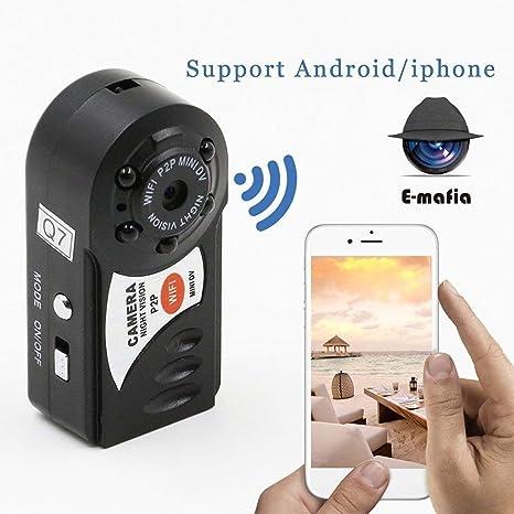 Buy Indo Digital Mini Portable Q7 P2P WiFi IP Camera Indoor