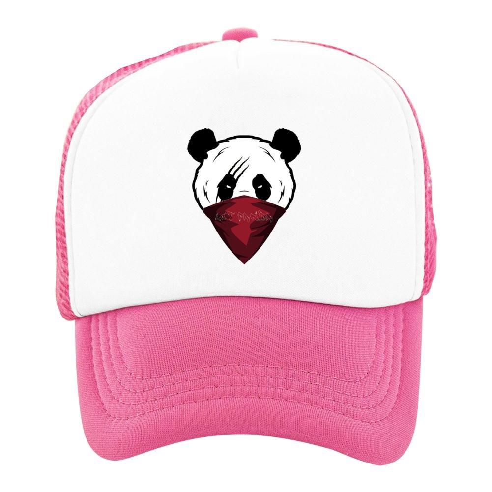 Kids Baseball Cap Panda Man Classic Mesh Outdoor Hat