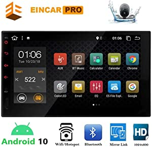 Double Din Android Car Stereo 7 inch Car Radio Player Touch Screen in Dash Car Multimedia Video Player Android 10.0 2 Din GPS Navigation System Backup Rear Camera Included