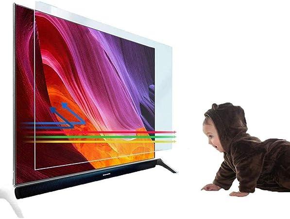 KDJJH 40 Pulgadas Protector de Pantalla de TV, TV Protección de Pantalla Antiazul Filtro Antideslumbrante Filtros ProteccióN para Los Ojos para LCD/LED y Plasma HDTV televisor,40inch/ 875x483mm: Amazon.es: Hogar