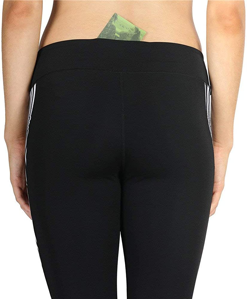 icyzone Capri Yoga Pants Athletic Leggings Workout Clothes Fitness Tights for Women