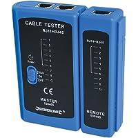 Silverline 539465 LAN Tester RJ11 and RJ45