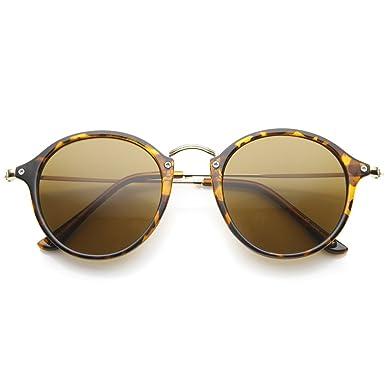 Lunettes de soleil KISS® de style MOSCOT mod. PLAT rond VINTAGE Johnny Depp homme femme CULTE unisexe - NOIR jiA6we