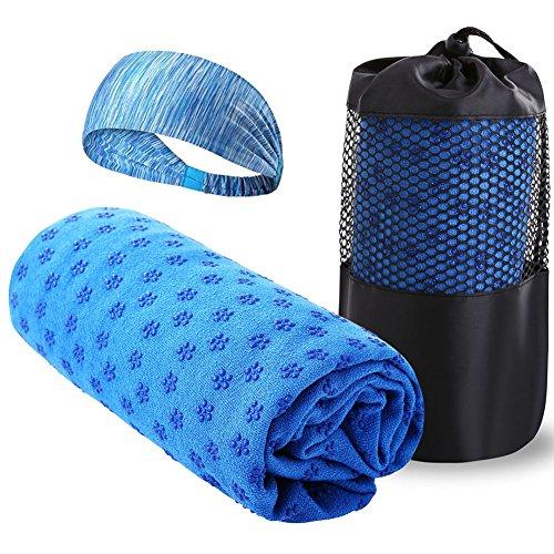 Zuozee Hot Yoga Towel Non Slip,Sport Towel Abso...