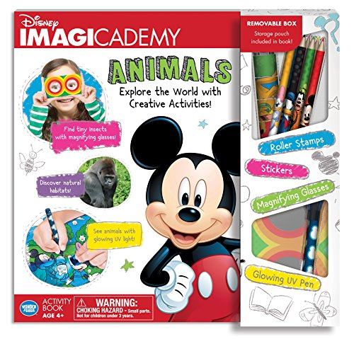 dfd591ed98b The Wonder Forge Disney Imagicademy Mickey Mouse Animals Activity Book