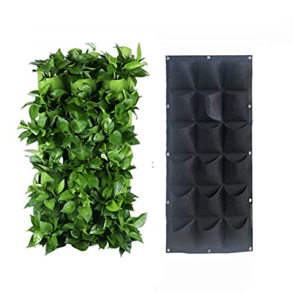 Amazon.com: Angzhili 18 bolsillos para colgar en la pared ...