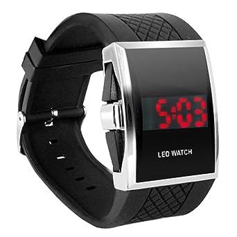digiflex luxury digital mens red led light sport wrist watch gift digiflex luxury digital mens red led light sport wrist watch gift style black