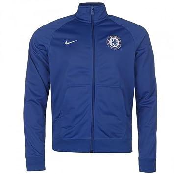 Nike 2017 2018 Chelsea Core Pre Match Jacket (Blue): Amazon