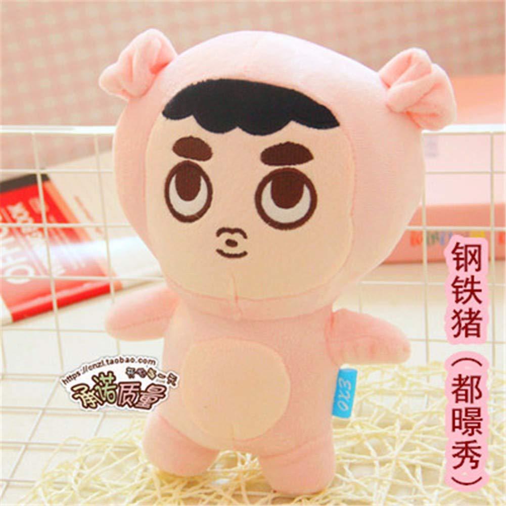 8 DIEIGEIHAO XO member cartoon doll Zhang Yixing Pu Canlie Baidu Can Dog Fox Fox Plush Doll Lu Han Zhong Xiong Doll 35CM,12