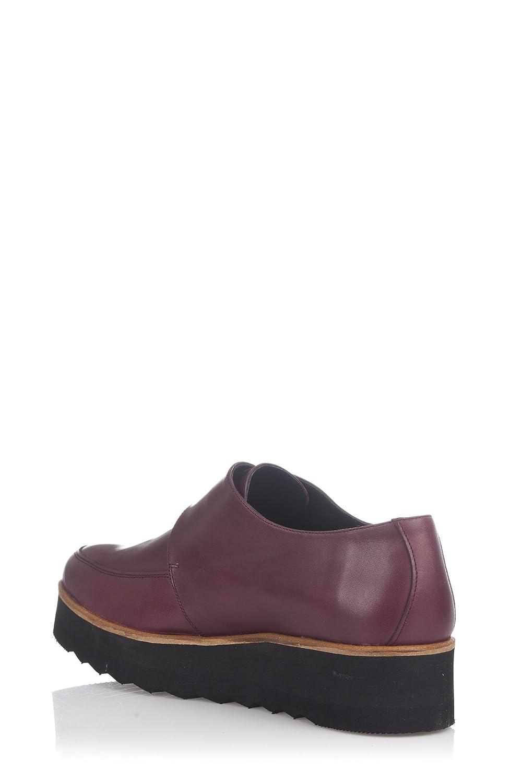 Damen Bugy Shoes Schuhe, Burgunderrot, 40 EU Laura Moretti