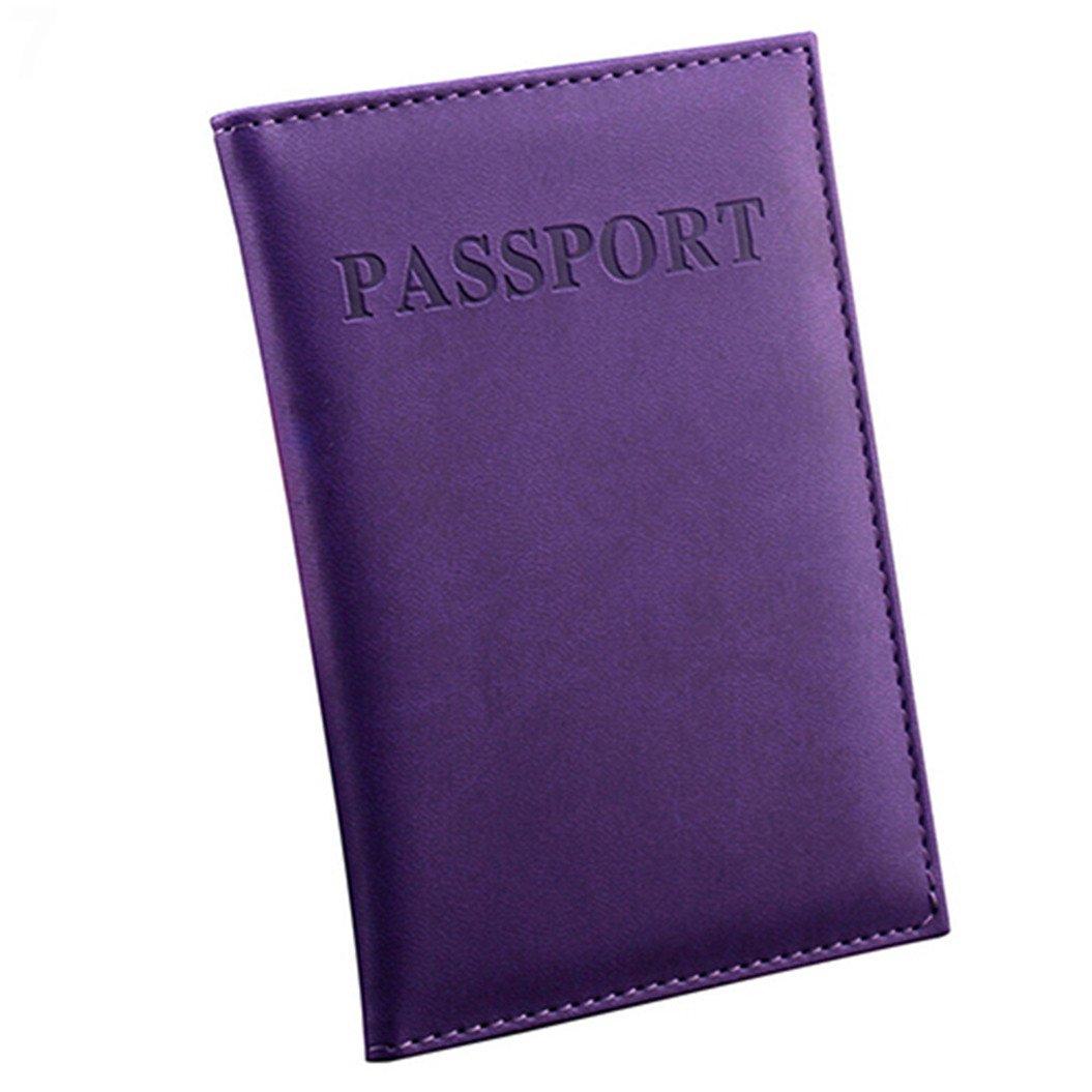 Funda de pasaporte  azul azul oscuro talla /única ZHOUBA