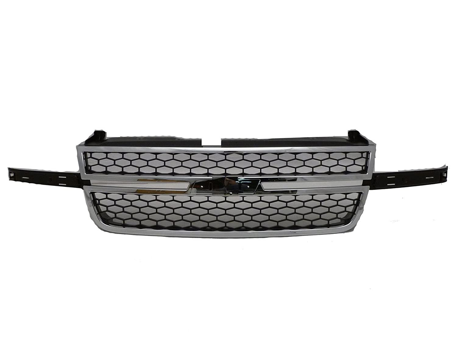 OE Replacement Chevrolet Silverado Pickup Grille Assembly Partslink Number GM1200546