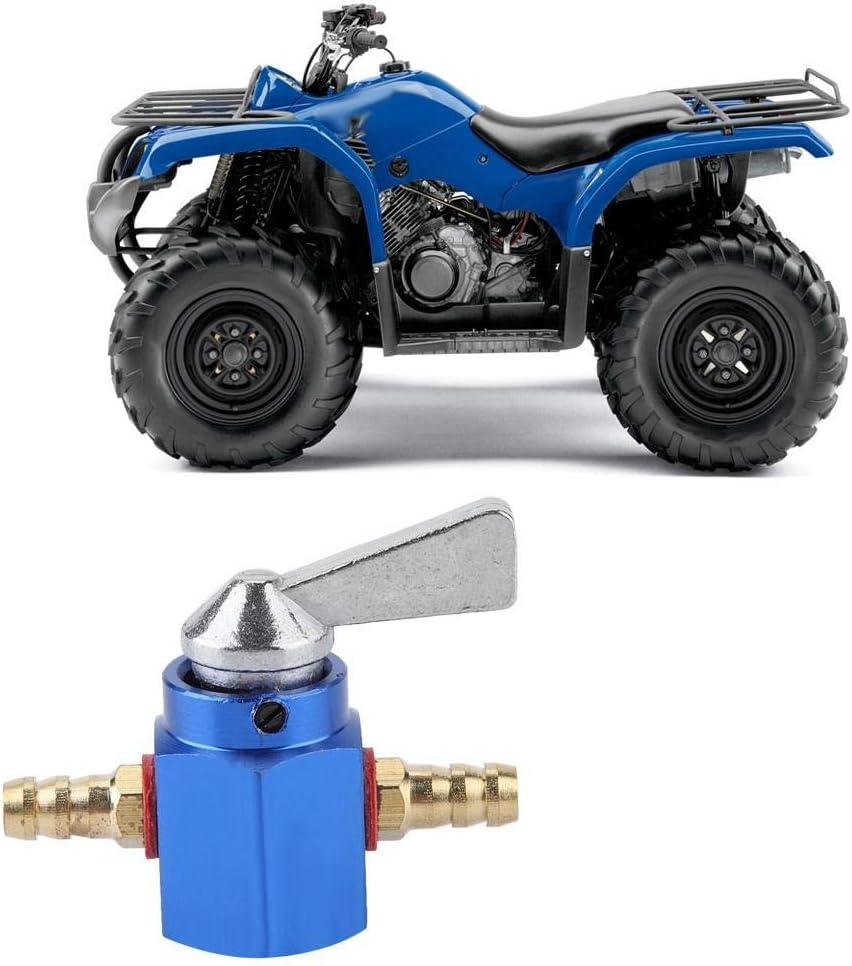 Bleu Valve de Commutateur de R/éservoir de Carburant Dessence ATV de Moto EBTOOLS 1pcs Commutateur de R/éservoir de Carburant robinet