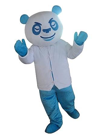 Amazon.com: Panda dibujos animados disfraz disfraz traje de ...