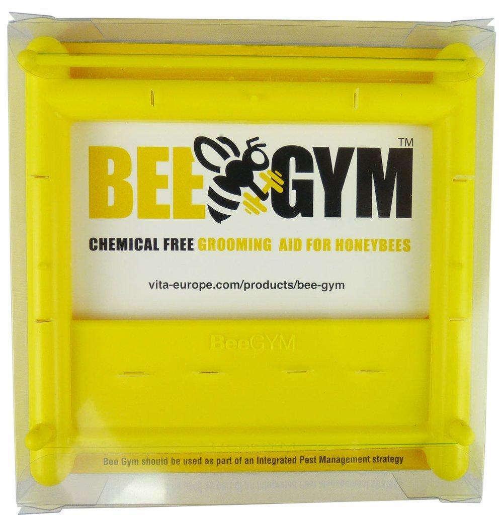 BeeGym Dispositif anti-varroa destructor sans produit chimique pour utilisation en ruche et colonies Vita Europe