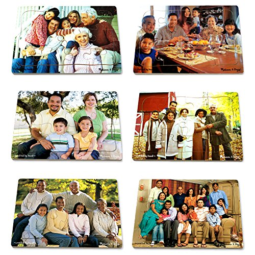 Multi-Cultural Family Puzzle Set ()
