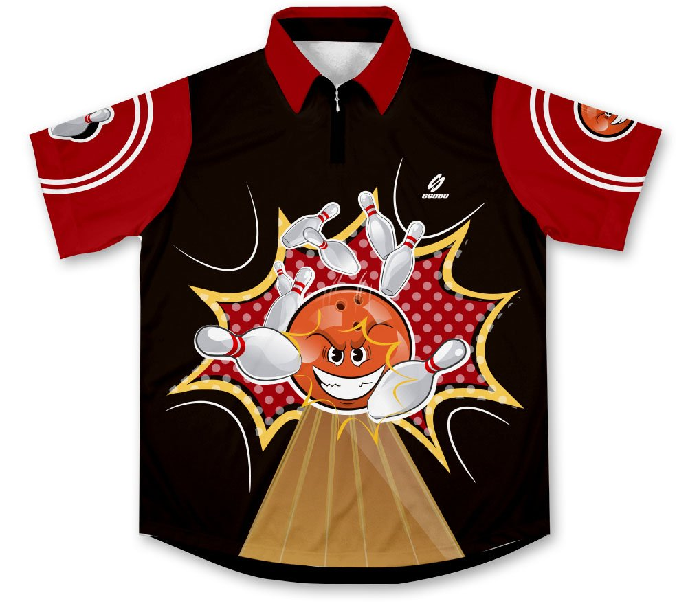 ScudoPro Crash Bowling Jersey - Size 4XL by ScudoPro