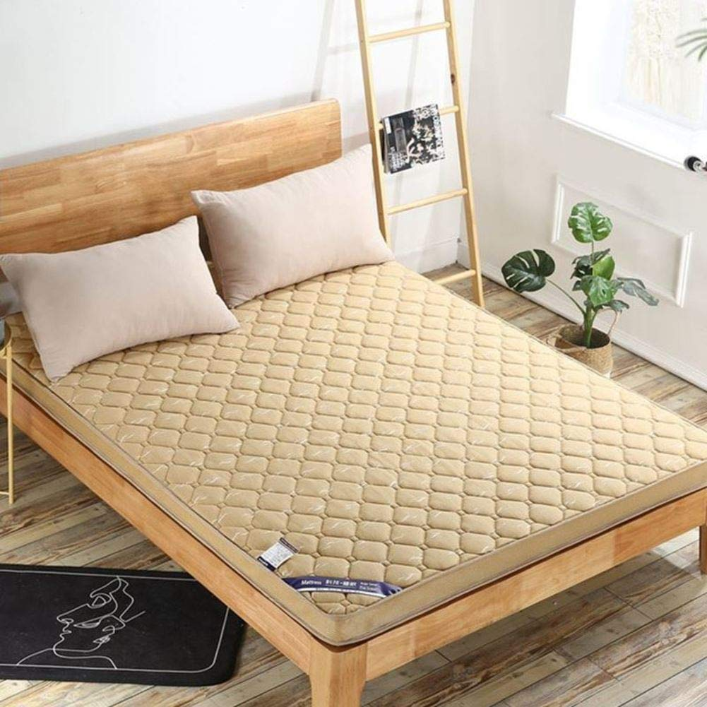 D 150x190x10cm(59x75x4inch) Queen Size Thick Mattress, Hypoallergenic Japanese Sleeping Pad Collapsible Luxury Breathable Tatami Room Hotel-d 150x190x10cm(59x75x4inch)