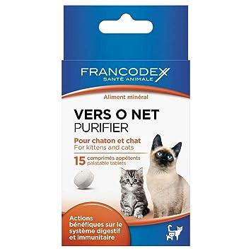 Francodex Pastillas hacia o Net para Gato y Gato X15