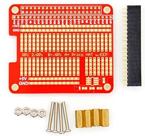 2 opinioni per DIY Proto Hat Shield for Raspberry Pi 2 B+ A+ Raspberry Pi 3 Model B.