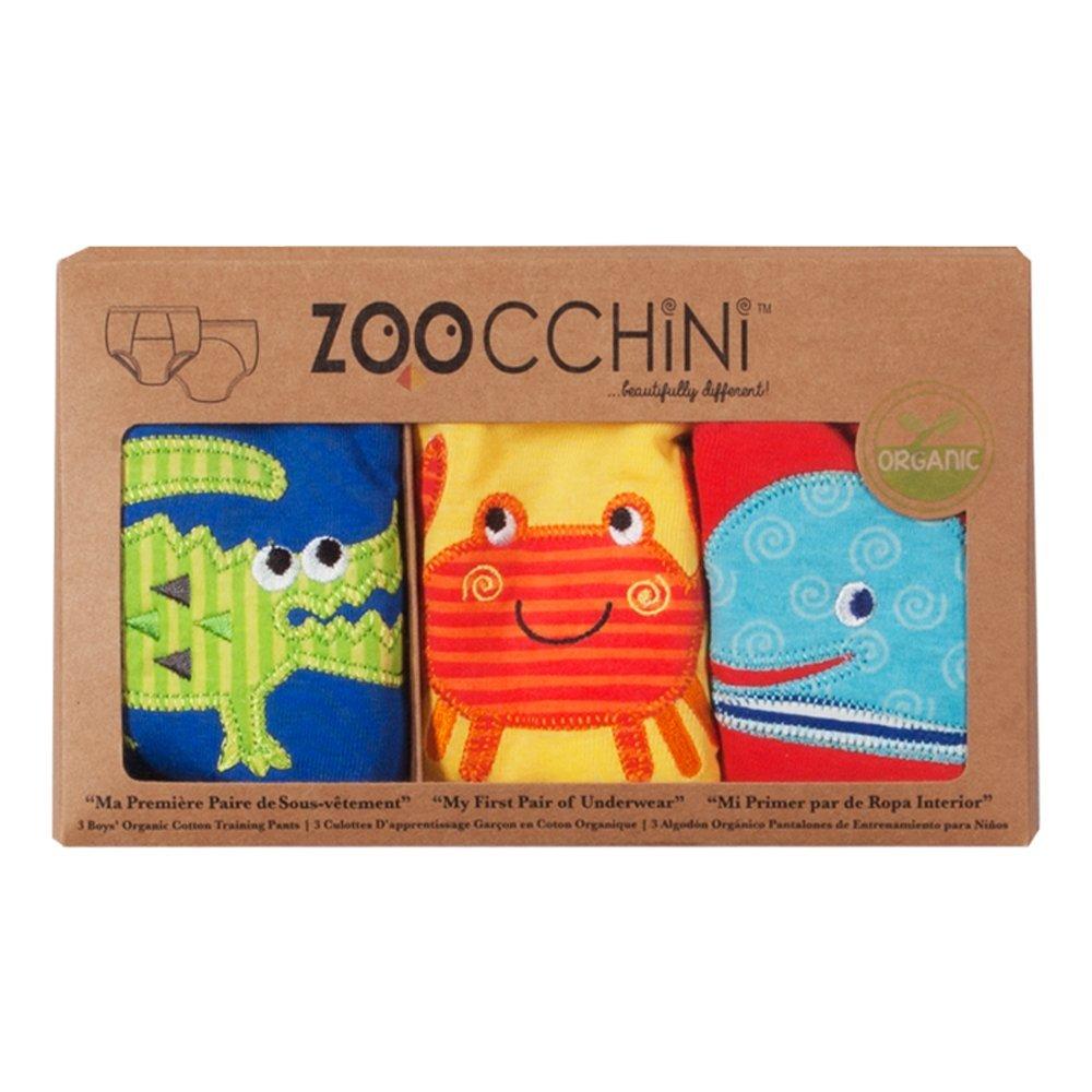 Amazon.com : Boys 3 Piece Organic Training Pant Set - Ocean Friends (3T-4T) : Baby