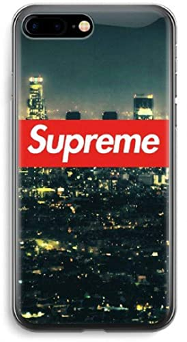 pretty nice 337b5 0f0f3 Amazon.com: Inspired by Supreme silicone iPhone case Supreme phone ...