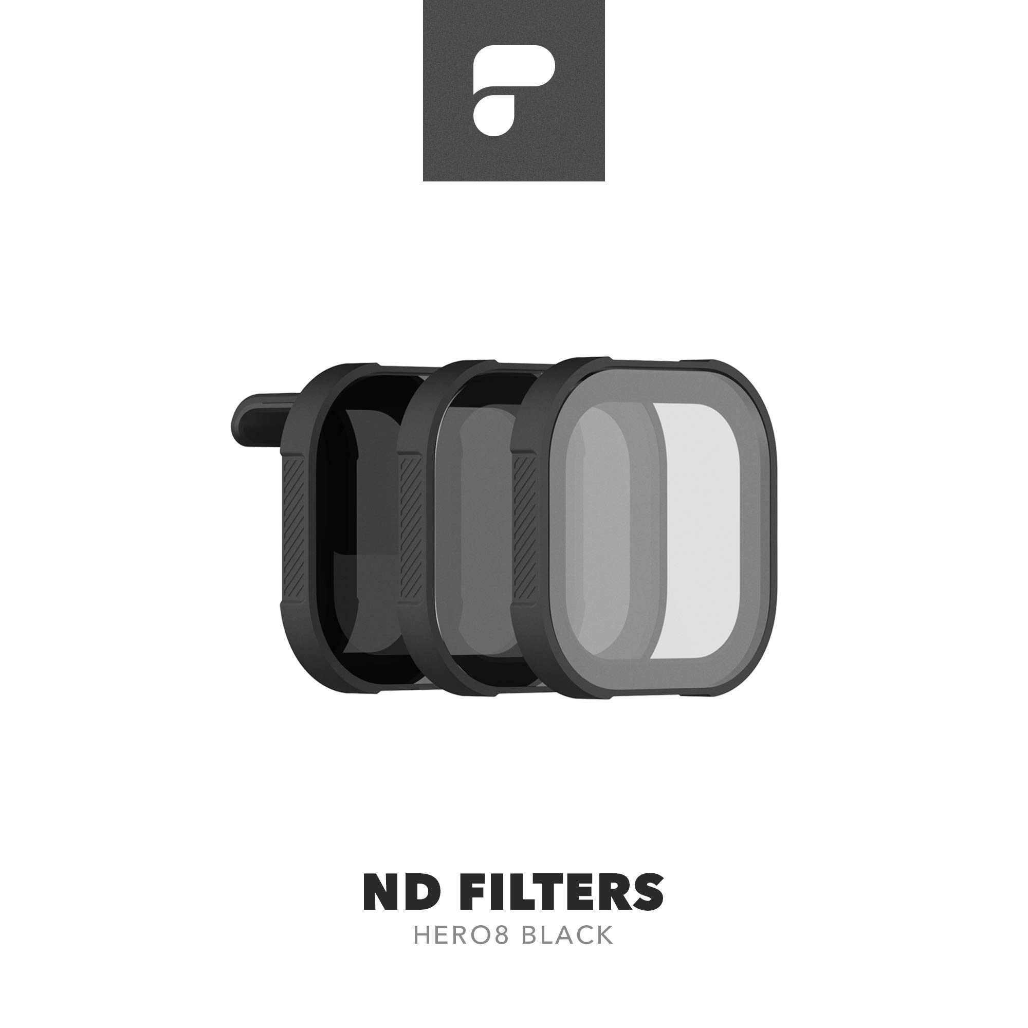 PolarPro ND Filter 3-Pack for GoPro Hero8 Black (Shutter Collection ND8/16/32) by PolarPro